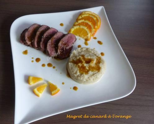 Magret de canard à l'orange P1020630