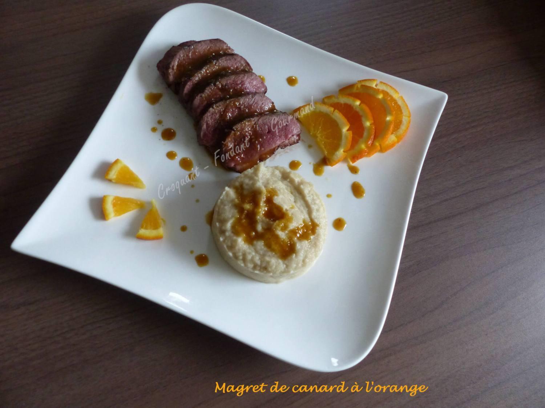 Magret de canard à l'orange P1020632
