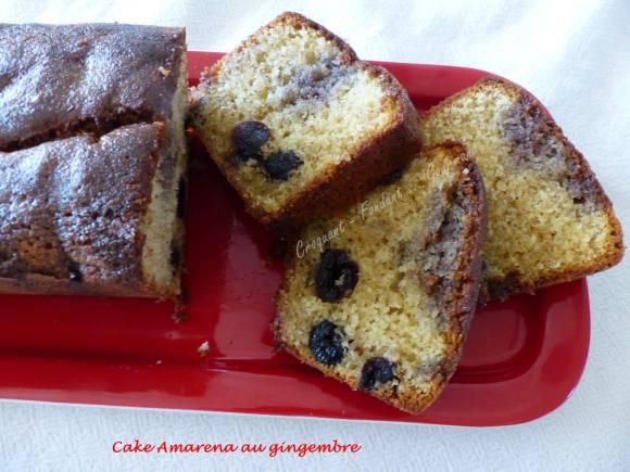 Cake aux cerises amarena P1030588