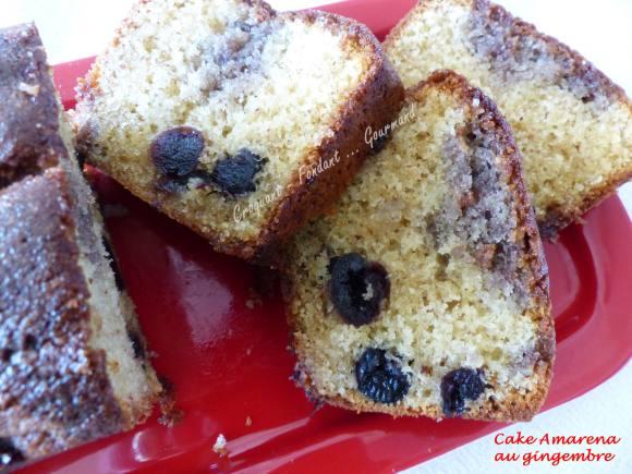 Cake aux cerises amarena P1030590