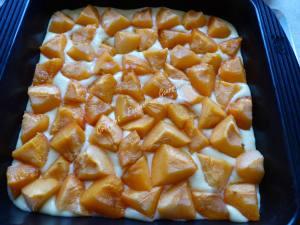 Crumb cake à l'abricot P1040112