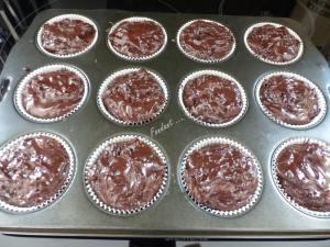 Muffins double chocolat façon Starbucks P1030913