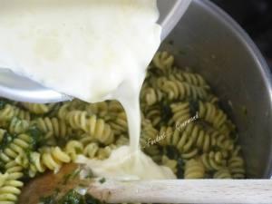 One pan pasta Gorgonzola P1030560