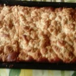 Crumb cake à l'abricot à vous de jouer Huguette Derieux mms_img240595624