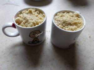 Mugcake crumble framboise-citron P1040077