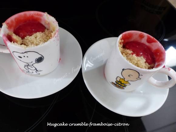Mugcake crumble framboise-citron P1040080