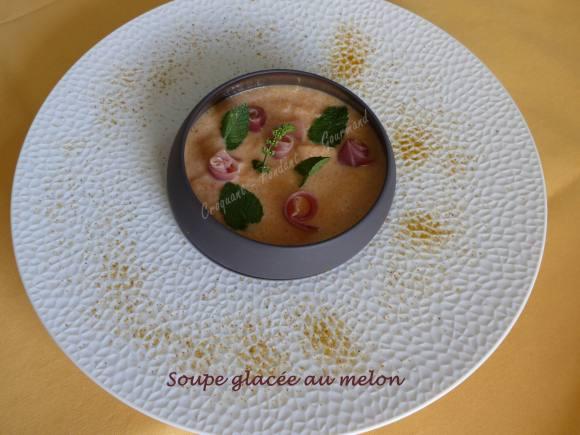 Soupe glacée au melon P1040423