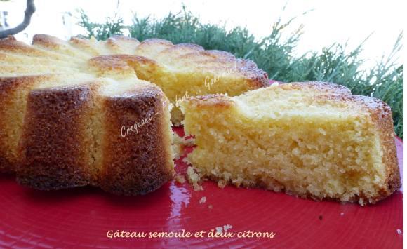 Gâteau semoule et deux citrons P1040669