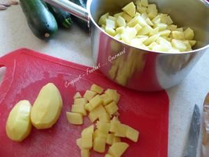 Gratin courgettes-pommes de terre-ricotta P1040604