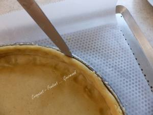 Tarte framboise et crème brûlée P1040234