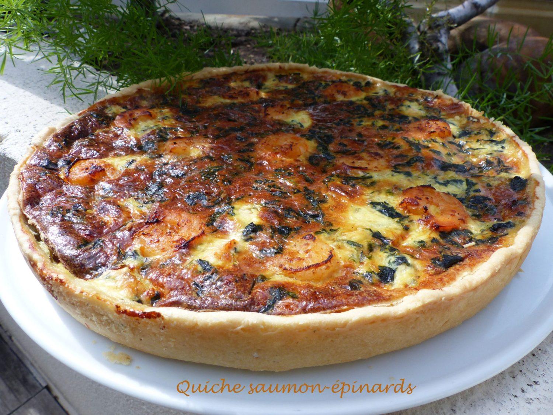 Quiche saumon-épinards Retouche P105060