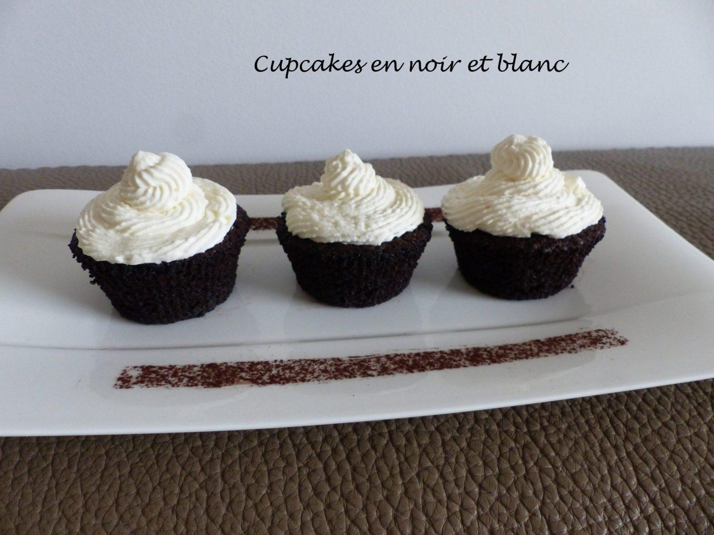 Cupcakes en noir et blanc P1060146 R