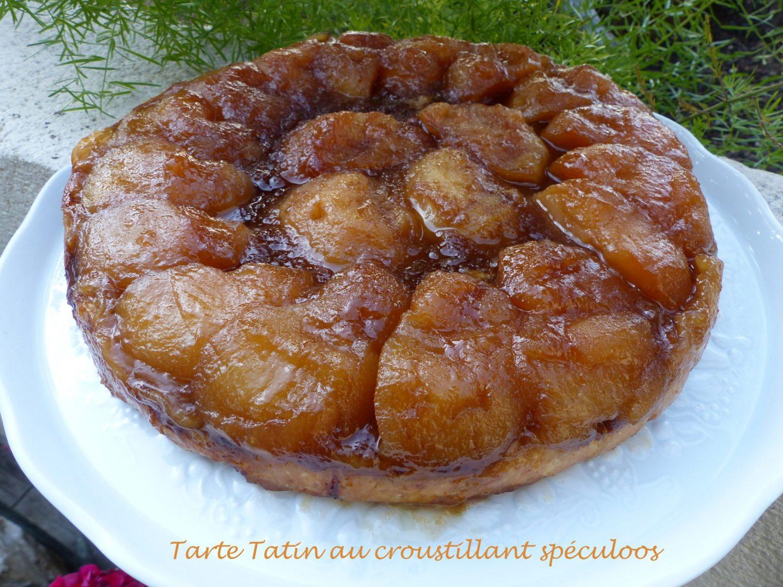 Tarte Tatin au croustillant spéculoos P1060628 R