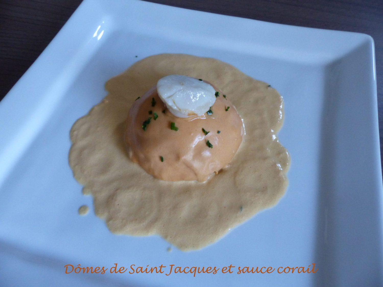 Dômes de Saint Jacques et sauce corail P1060801 R