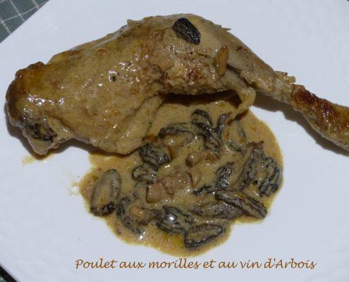 Poulet aux morilles et au vin d'Arbois P1070583 R