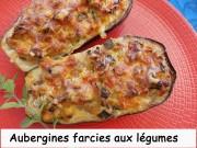 Aubergines farcies aux légumes Index DSCN9668