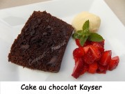 Cake au chocolat Kayser Index DSCN8148