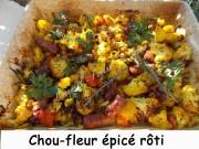 Chou-fleur épicé rôti Index DSCN1173