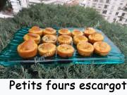 Petits fours escargots Index DSCN1924