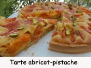 Tarte abricot-pistache Index DSCN8975
