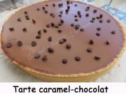 Tarte caramel-chocolat Index DSCN9745