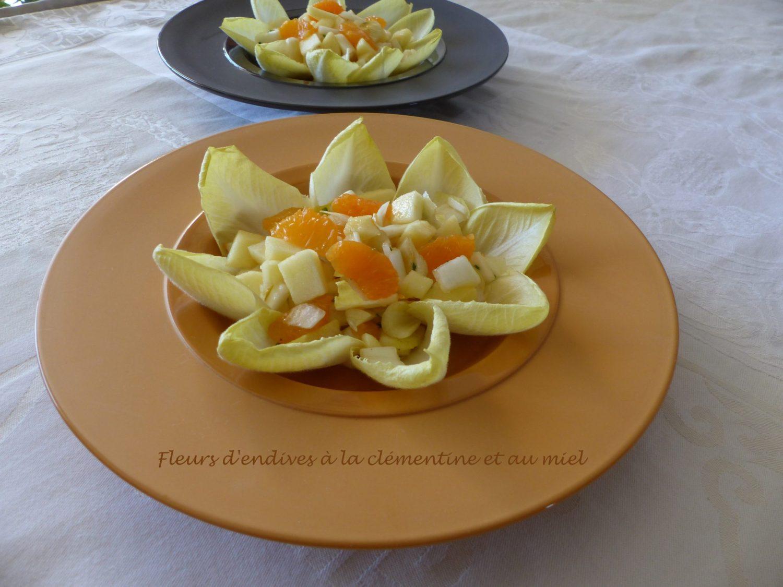 Fleurs d'endives à la clémentine et au miel P1070968 R