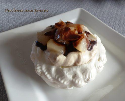 Pavlova aux poires P1070721 R