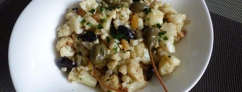 Chou-fleur rôti en salade P1070834 R