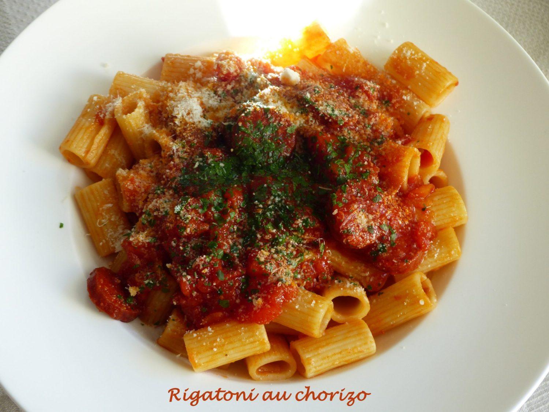 Rigatoni au chorizo P1090287 R
