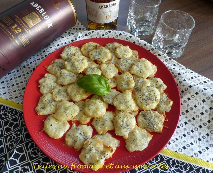 Tuiles au fromage et aux amandes P1090586 R
