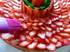 Couronne aux fraises P1030759
