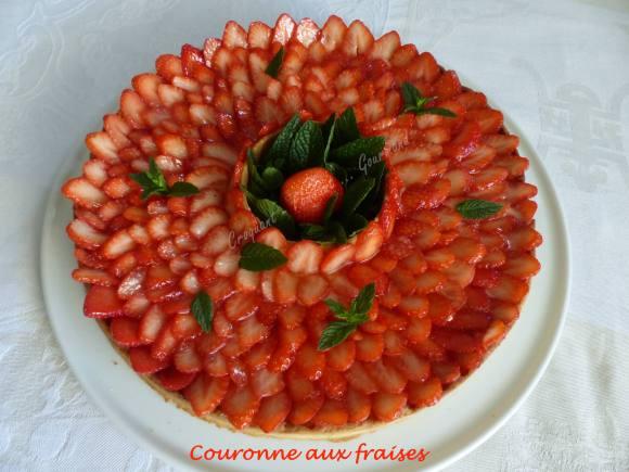 Couronne aux fraises P1030764