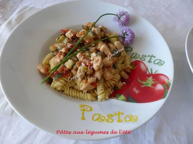 Pâtes aux légumes de l'été P1030650