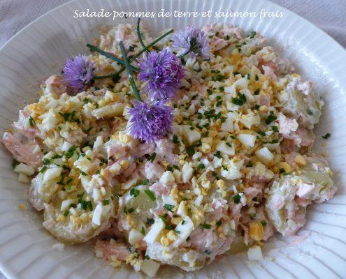 Salade pommes de terre et saumon frais P1100855 R