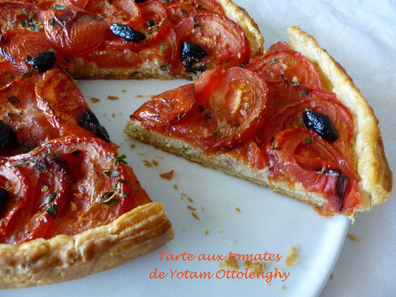 Tarte aux tomates de Yotam Ottolenghy P1110549 R