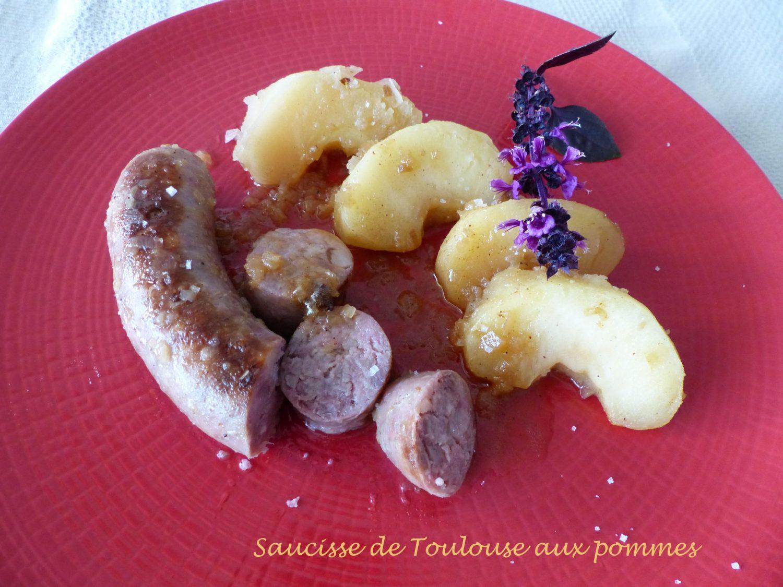 Saucisse de Toulouse aux pommes Retouche P1050652