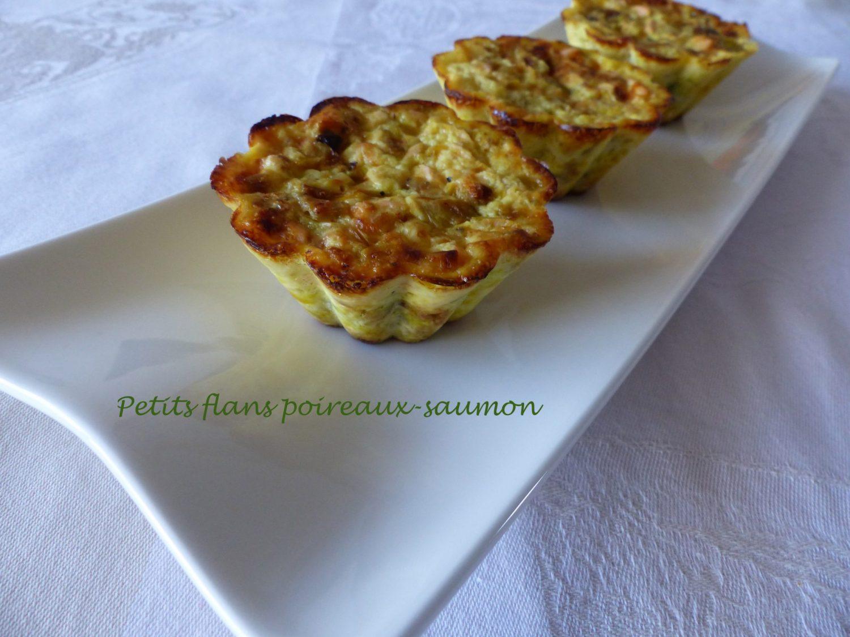 Petits flans poireaux-saumon P1060927 R