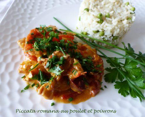 Piccata romana au poulet et poivrons P1130524 R