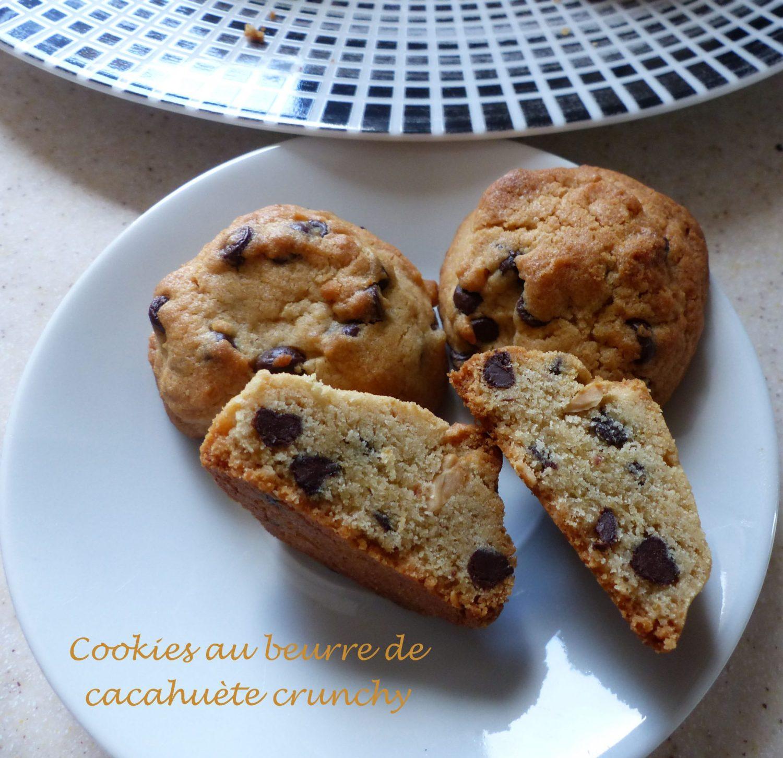 Cookies au beurre de cacahuète crunchy P1140267 R