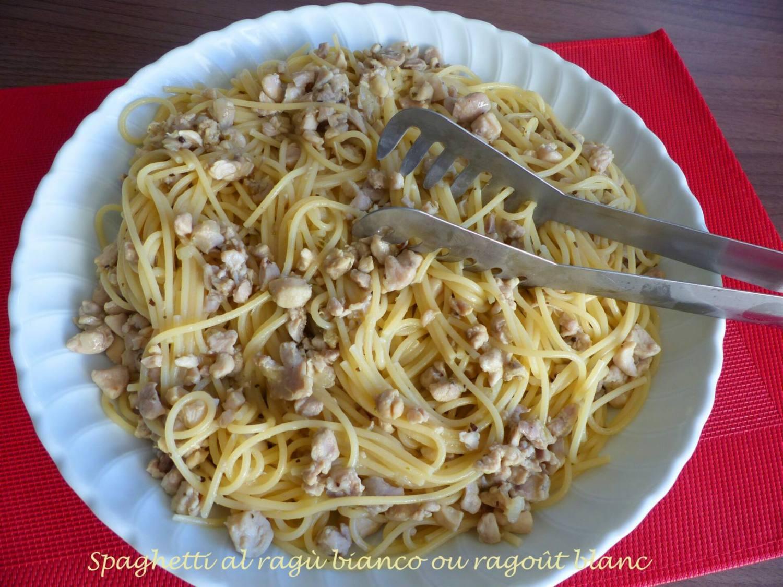 Spaghetti al ragù bianco ou ragoût blanc P1140520 R