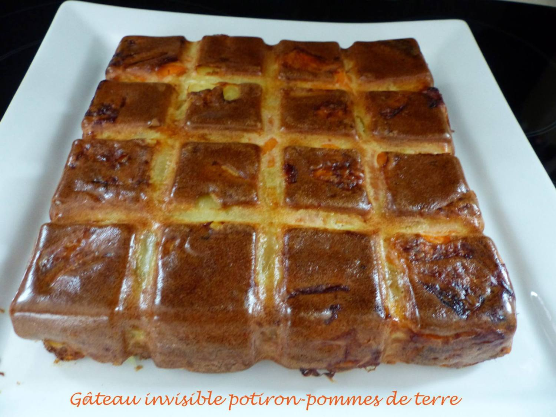 Gâteau invisible potiron-pommes de terre P1140301 R