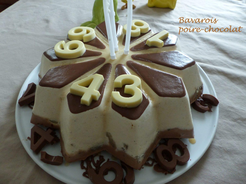 Bavarois poire-chocolat P1090887 R
