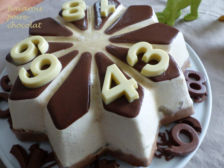 Bavarois poire-chocolat P1090893 R