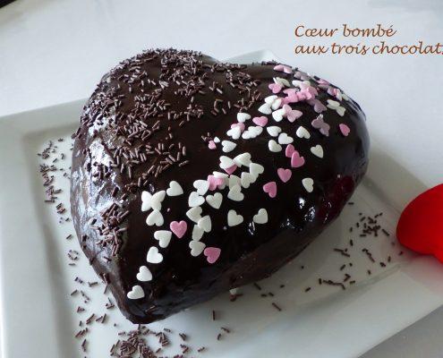 Cœur bombé aux trois chocolats P1090393 R
