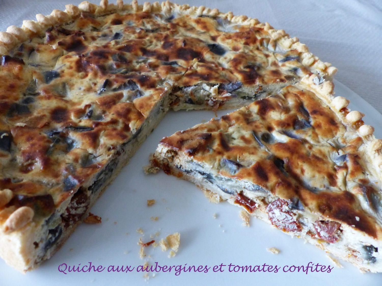 Quiche aux aubergines et tomates confites P1100644 R