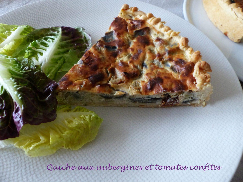 Quiche aux aubergines et tomates confites P1100647 R