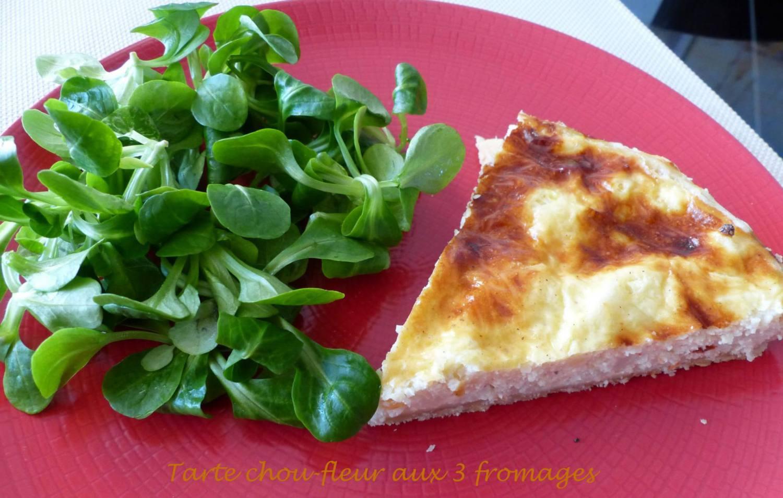 Tarte chou-fleur aux 3 fromages P1150917 R