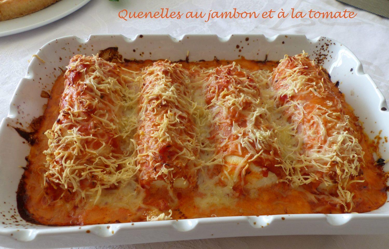 Quenelles au jambon et à la tomate P1100209 R
