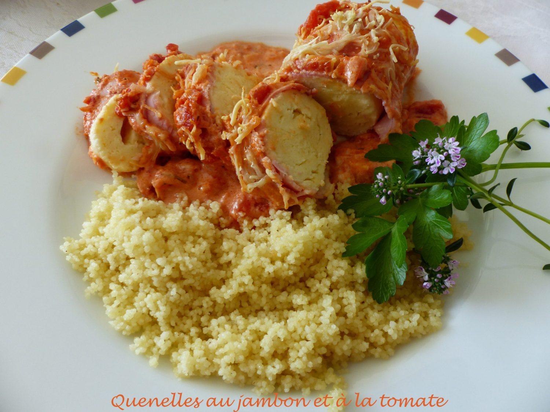 Quenelles au jambon et à la tomate P1100217 R