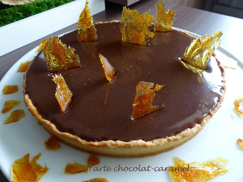 Tarte chocolat-caramel P1160494 R